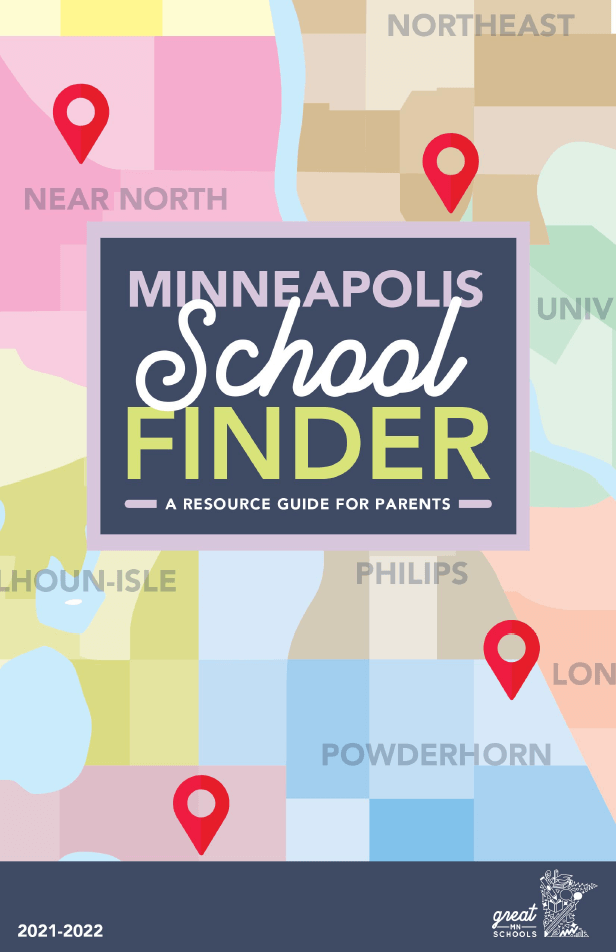 Minneapolis School Finder cover